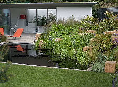 Unique home garden designs for your inspiration for Chelsea flower show garden designs