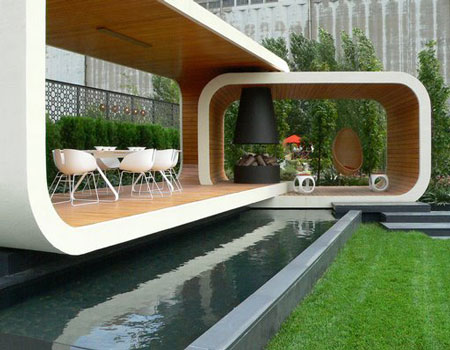 Unique home garden designs for your inspiration for Home garden design