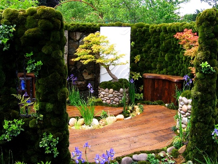 Unique Garden Decor Ideas Photograph | ... designs plans hom