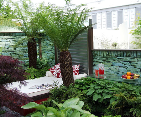 Exellent home design unique garden design for Urban garden design ideas