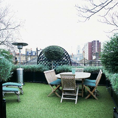Roof garden ideas tips house beautiful design for Rooftop garden designs