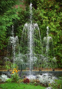 Garden Fountains To Enhance The Appearance Of Garden