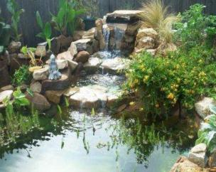 ... Garden Design With Know How To Build Your Own Backyard Pond! With  Planting Shrubs From