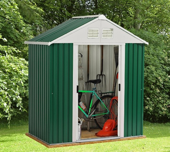 metal sheds for garden
