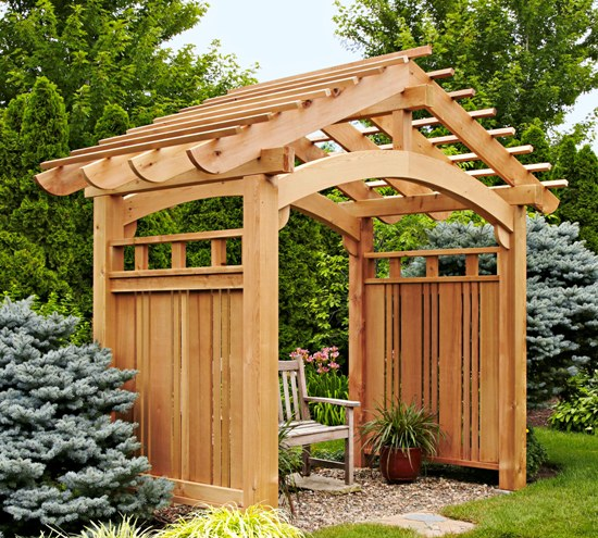 attractive trellis design ideas - Arbor Designs Ideas